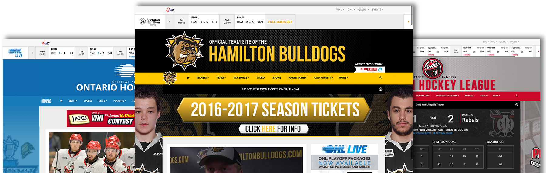 Websites | Stadium Digital