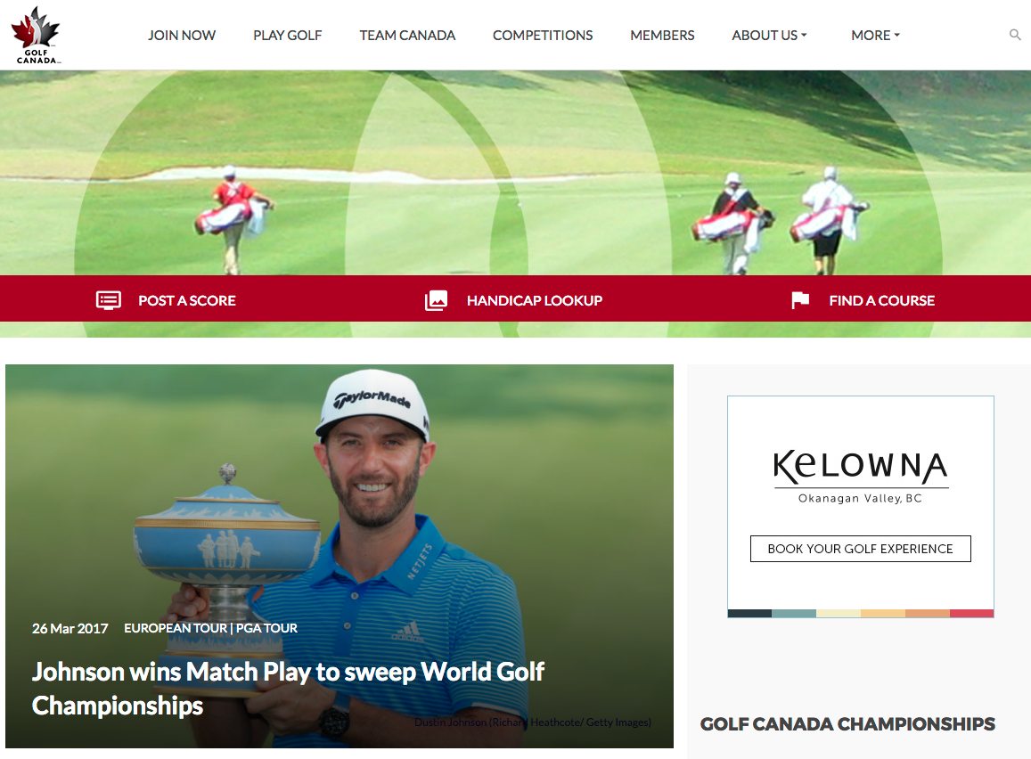 GolfCanadahomepage